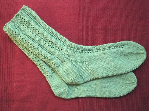 unst socks FO