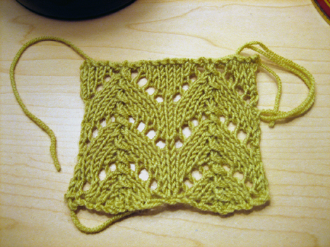 lace swatch