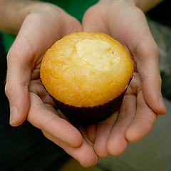 gluten free gourmet lime lemon cupcake