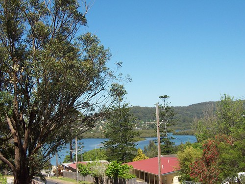 Fagans Bay from the corner of Batley & Wilhemina Streets West Gosford