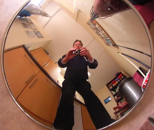 Mirror in the Kitchen