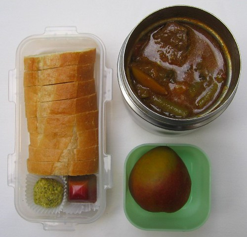 Beef curry lunch お弁当