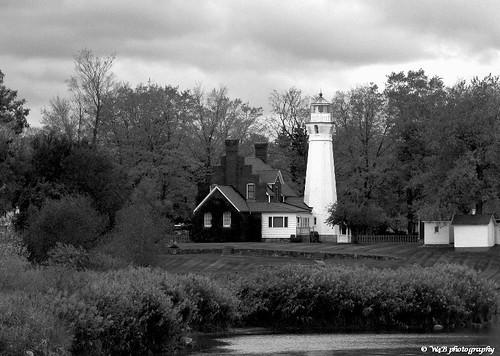 Lighthouse: Port Sanilac, MI