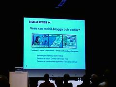 Mobil blogging