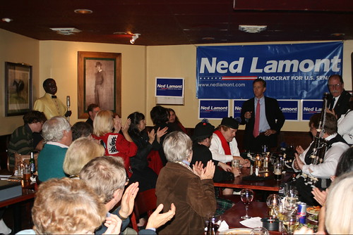 Ned Addresses Supporters At Post-Debate Rally