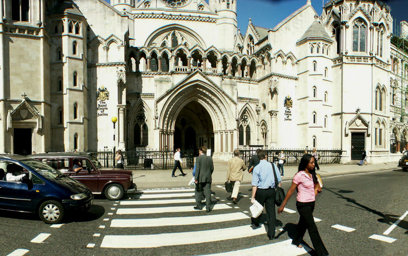 Royal Courts Of Justice (also called The Law Courts) in London