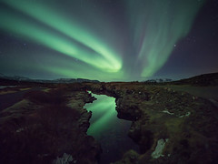 Aurorae photo by Kiddi Kristjans