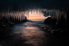 Ice Cave at Sunrise photo by Bryan Hansel