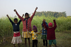 Children's Mood photo by Sandeep Santra