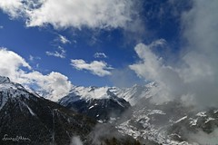 View of Val d'Anniviers in Switzerland - Explore photo by lathuy