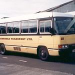 1990 Toyota Coaster bus