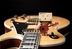 Danbo Rockin' Out [Explored] photo by Chaos2k
