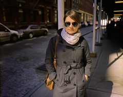 Susan in SoHo, NYC photo by wanderlustcameras