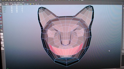 Step 1 of our @arthackday project.  CATMODE.