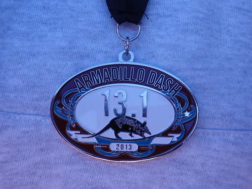 2013 Armadillo Dash Medal