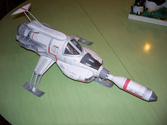 UFO Interceptor paper model photo by modern_fred