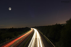 Light Trails - Long Exposure photo by JHarrisonPhotography