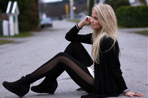 street style hair light blonde