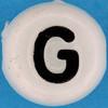 Letter Bead letter G