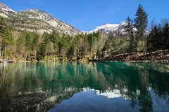 Blue Lake (Blausee), Switzerland photo by ShivRamky