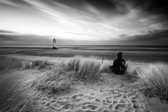 If I could see the things you've seen (Talacre Lighthouse, North Wales) photo by Anthony Owen-Jones