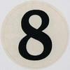 Vintage Sticker number 8