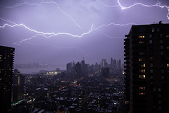 April Thunderstorm IV - North Manhattan photo by Samytry