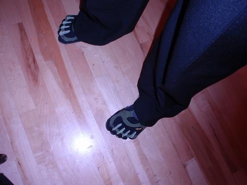 Tuxedo Pants Plus Vibrams