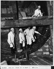 A group of men in a Metro shaft photo by Tyne & Wear Archives & Museums