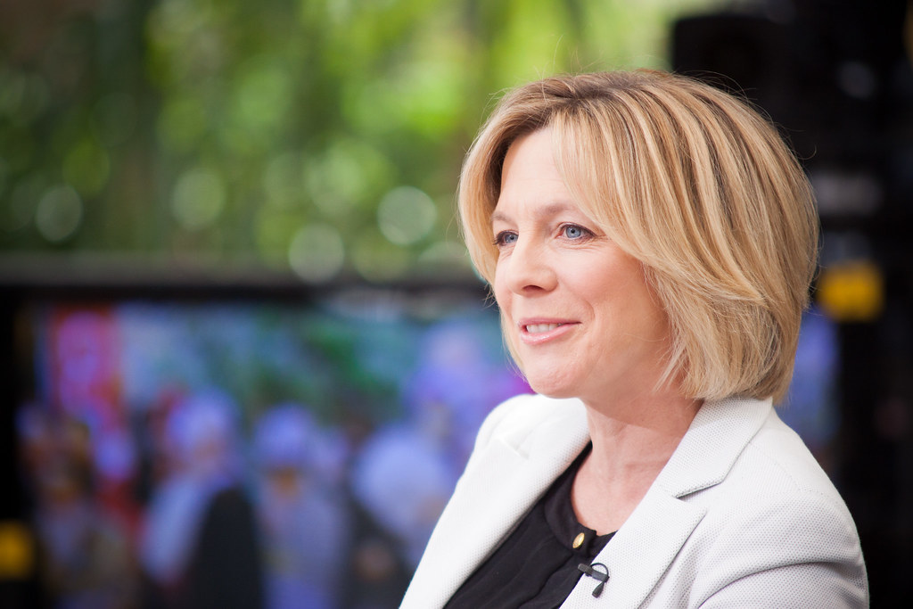 27/30 - she is a bit of a Hazel Irvine
