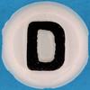 Letter Bead letter D