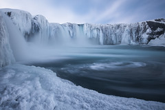 Goðafoss Ice photo by Philip Eaglesfield