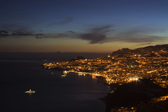 Funchal by night photo by konceptsketcher