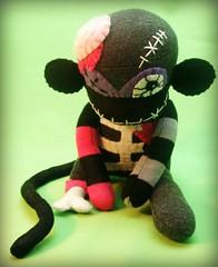 Zombie Sock Monkey Monster photo by ♥BirdGurl♥