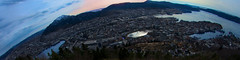 Panorama view of Bergen photo by www.stefanblombergphotography.com