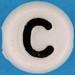 Letter Bead letter C