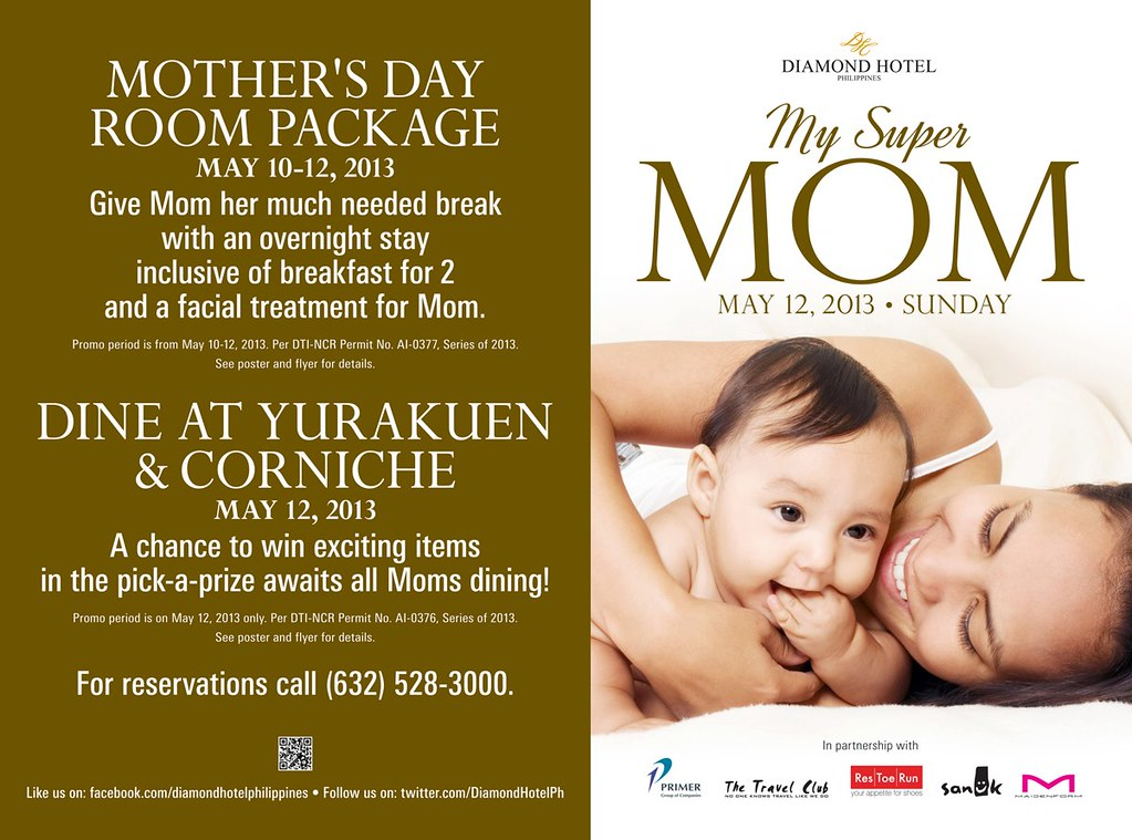 2013 Mothers Day Specials and Promos