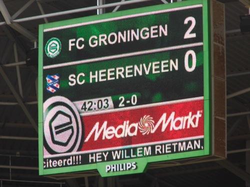 8627427871 0953b07b1e FC Groningen   SC Heerenveen 3 1, 7 april 2013