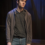 Josh Salt (Lee) in YELLOW MOON at Writers Theatre. Photo by Michael Brosilow.
