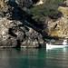 Ibiza - Llaut de pesca y caseta varadero en Cala Benirras