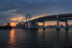 Rainbow Bridge Sunset photo by counteragent