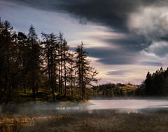 Evening Mist at Tarn Hows - #Explored photo by asheers