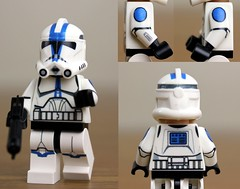 Custom LEGO Phase 2 501st Clone Trooper from Season 4 photo by JPO97Studios