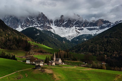 Beneath the Giants (Santa Maddalena, Italy) photo by james_clear