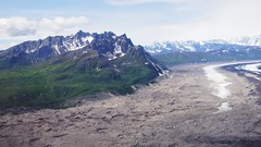 Glacier in Denali National Park