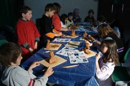Ateliers sculpture - Elodie Ruelle