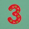 Puffy Sticker Number 3