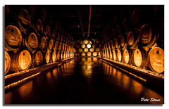 Courvoisier Cognac barrels............[Explored] photo by Pete Stone CPAGB