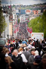 17th of May 2012 at Karl Johan gate, Oslo [Explored] photo by Lukas Larsed