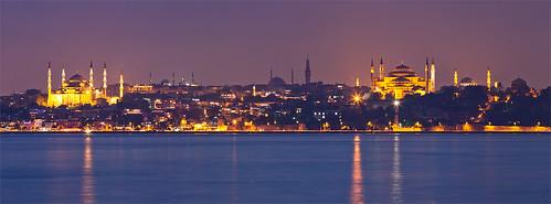 Sultanahmet Camii and Hagia Sophia, Istanbul - Turkey